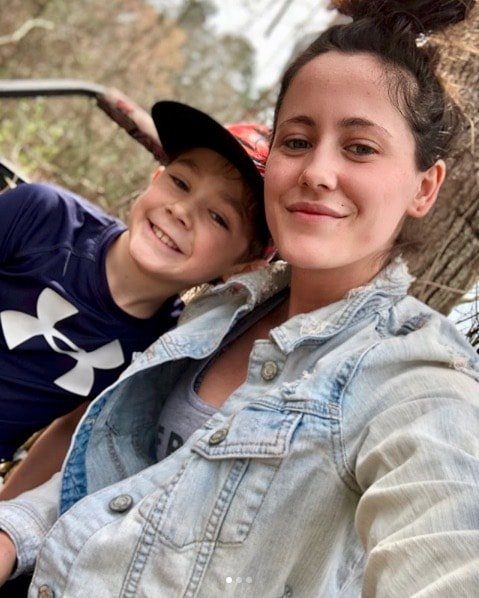 Jenelle Evans With Jace