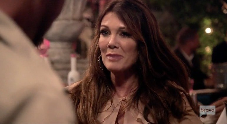 LIsa Vanderpump meets Patrick