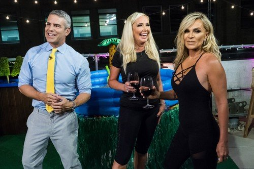 "Andy Cohen Shades Vicki Gunvalson's ""New Face'; Tamra Judge Says Eddie Judge's Heart Procedure Didn't Work"