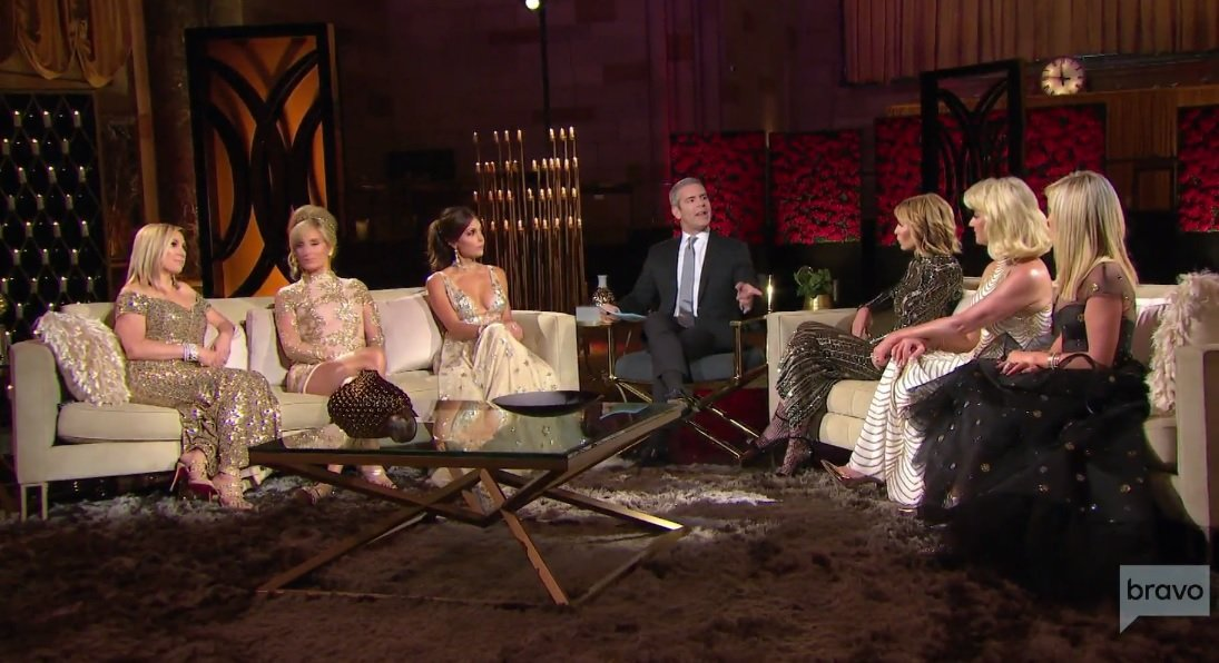 The Crap Talking On Tonight's Real Housewives Of New York Reunion Is Epic…Literally