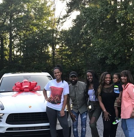 Riley Burruss Celebrates 16th Birthday With New Car From Mom Kandi Burruss