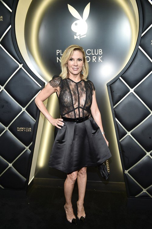 Ramona Singer Hits The Playboy Club Party An