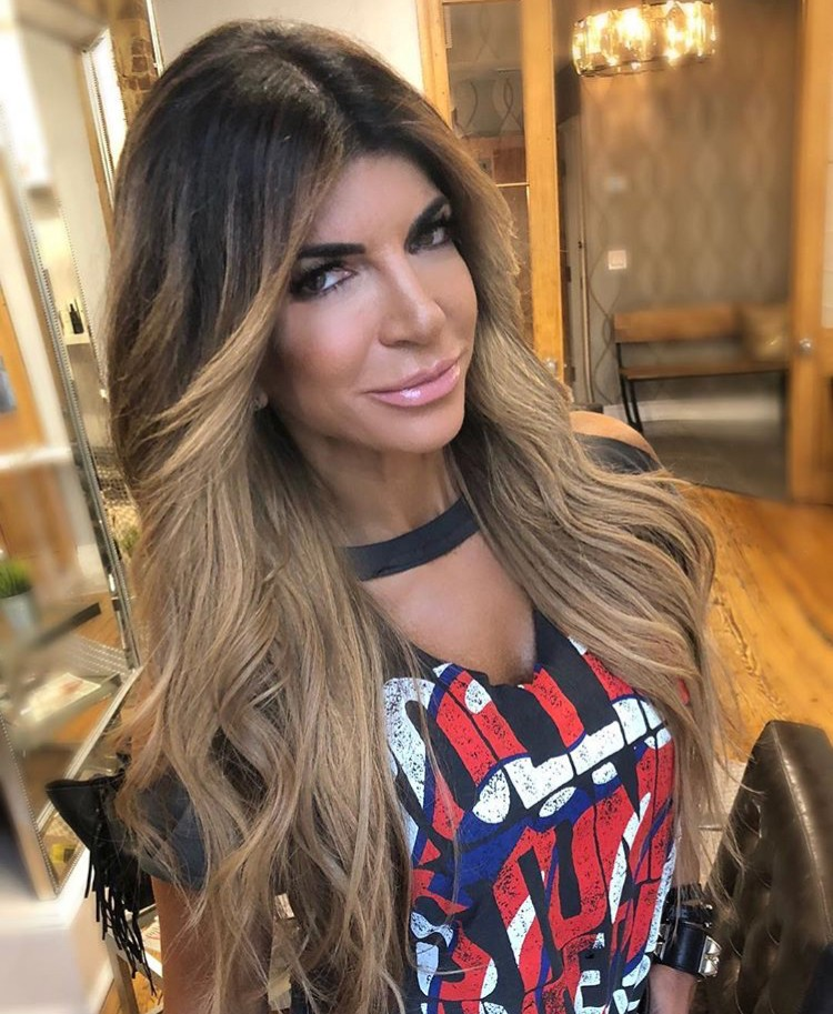 Teresa Giudice Is Selling Workout Supplements, Coffee, & Seasoning On Her Official Website