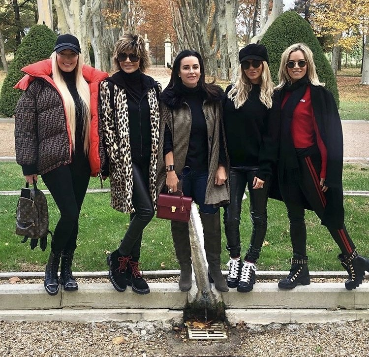 Real Housewives Of Beverly Hills Cast Trip In France- Photos