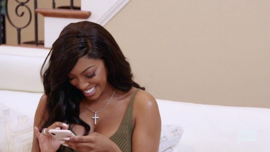 Porsha is glowing with love