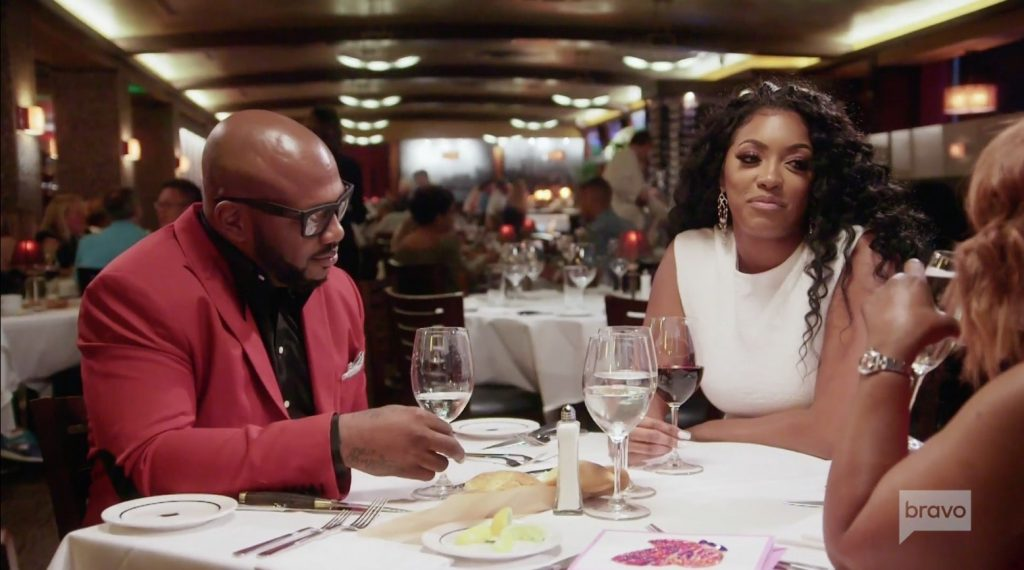 Porsha Williams meets Dennis McKinley's mom Gina