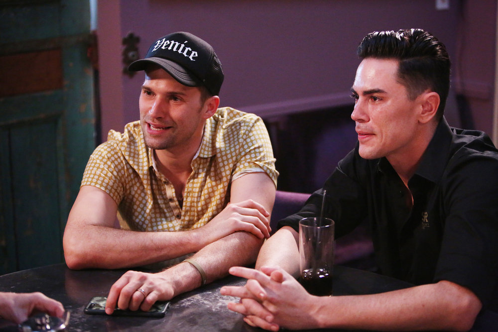 "Tom Sandoval Says James Kennedy Is ""Great TV"" & ""Important"" To Vanderpump Rules"