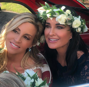 Kyle Richards Dishes on Being a Bridesmaid in Camille Grammer's Wedding