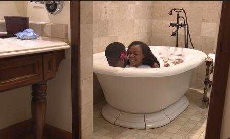 Kristine-and-Keith-in-bath Married at First Sight