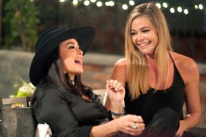 "Kyle Richards Hopes Denise Richards Stays on ""Wild Ride"" Season Of Real Housewives Of Beverly Hills"