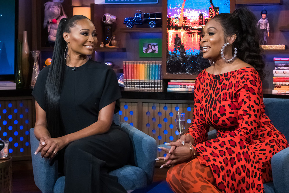 Marlo Hampton Insists Shamari DeVoe Has A Drinking Problem; Cynthia Bailey Comments On Peter Thomas Arrest