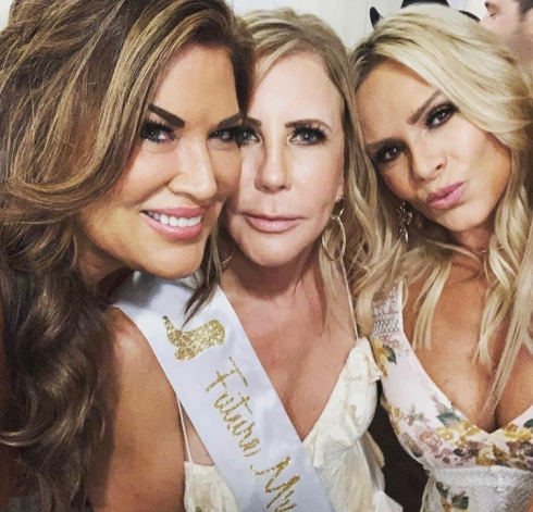 Real Housewives Of Orange County Celebrate Vicki Gunvalson's Engagement- Check Out The Photos!