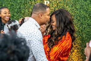 Cynthia Bailey Mike Hill Engagement