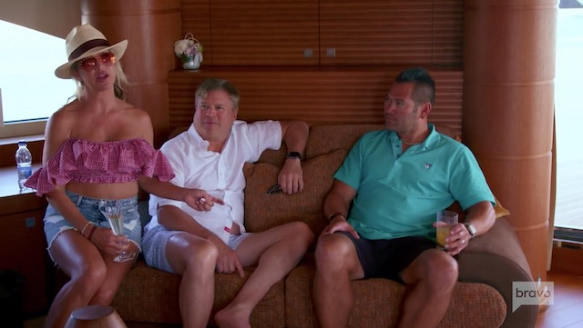 Captain Sandy Below Deck Mediterranean