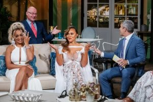 Michael Darby Argues With Cast & Husbands On Real Housewives Of Potomac Reunion- Check Out Cast Photos From Reunion Taping