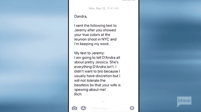 D'Andra Simmons Rich Emberlin Jeremy Lock Cheating Texts