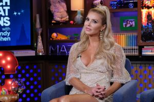 "Brandi Glanville Implies More Drama With Denise Richards; Says ""You Wanna Play-"""