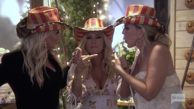 Tamra Heart of attention on Rela Housewives Of Orange county