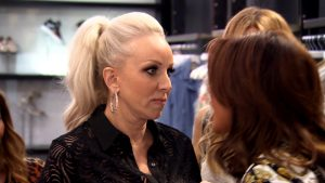 Danielle Staub Margaret Josephs hair pull Real Housewives of New Jersey RHONJ