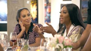 Kenya Moore Tanya Sam Real Housewives Of Atlanta