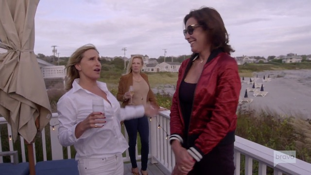 Real Housewives Of New York Sonja Morgan Luann de Lesseps Ramona Singer