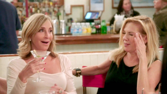 Real Housewives Of New York Ramona Singer Sonja Morgan
