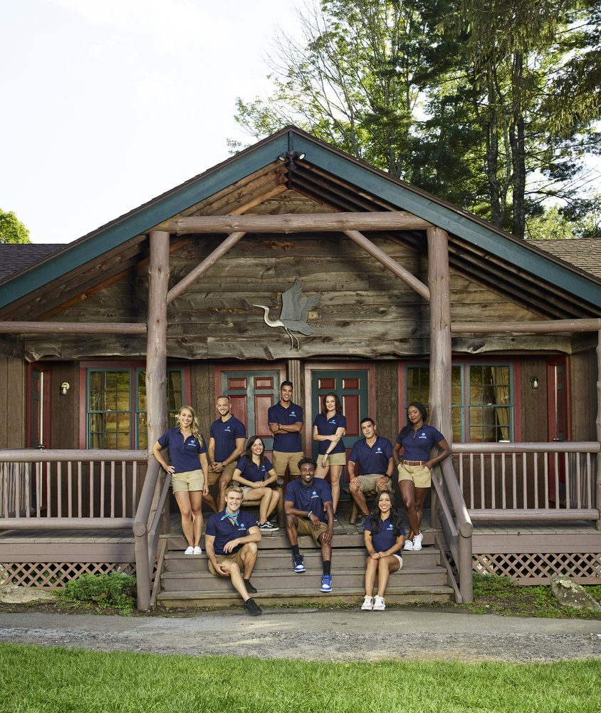 Camp Getaway Cast Members