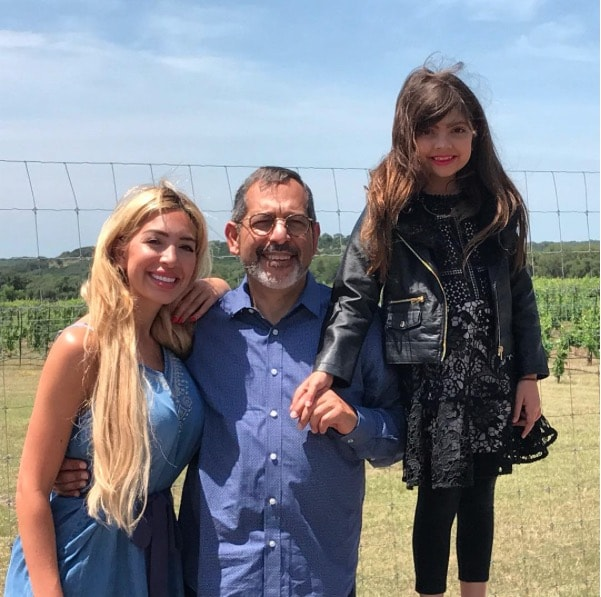 Michael Abraham With Farrah & Sophia
