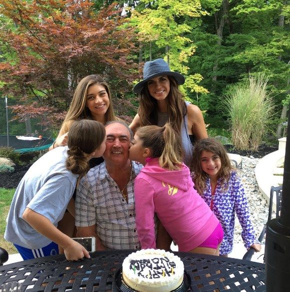 Giudice Girls Show Love For Nonno