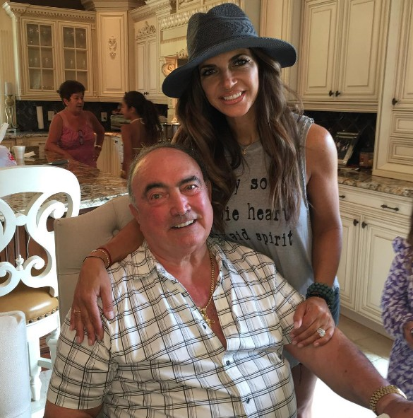 Teresa & Her Father On His Birthday