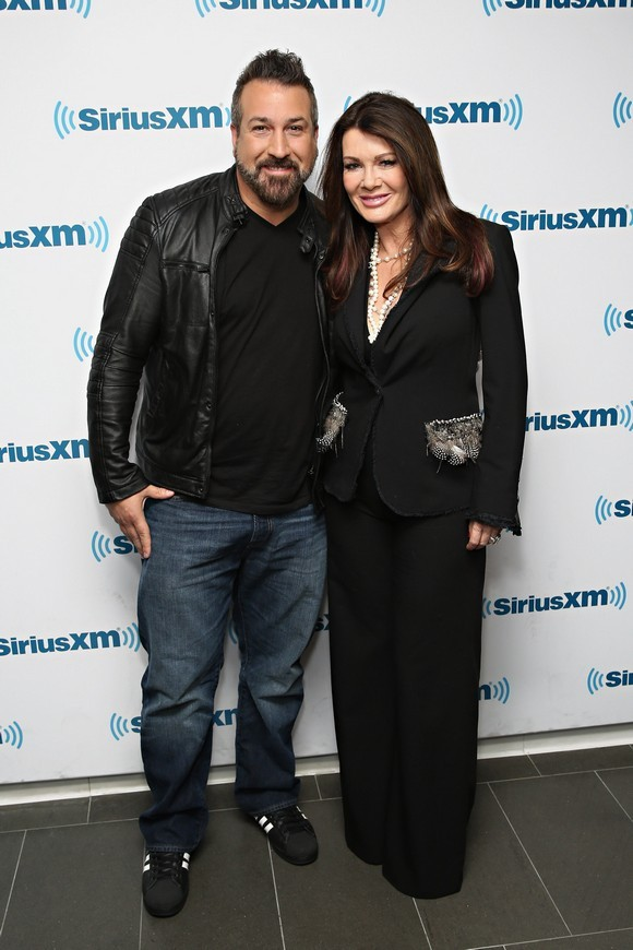 Lisa Vanderpump & Joey Fatone