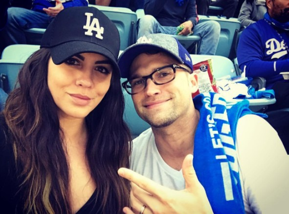 Katie Maloney & Tom Schwartz At The World Series
