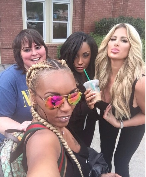 Kim Zolciak + Squad