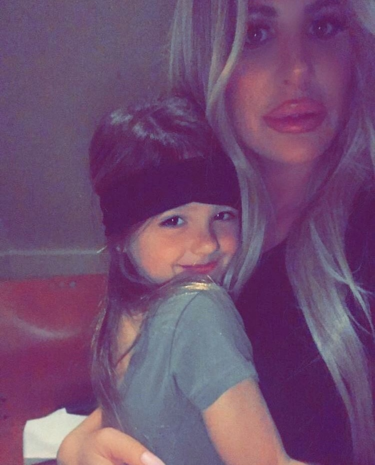 Kim Zolciak & Her Daughter Kaia
