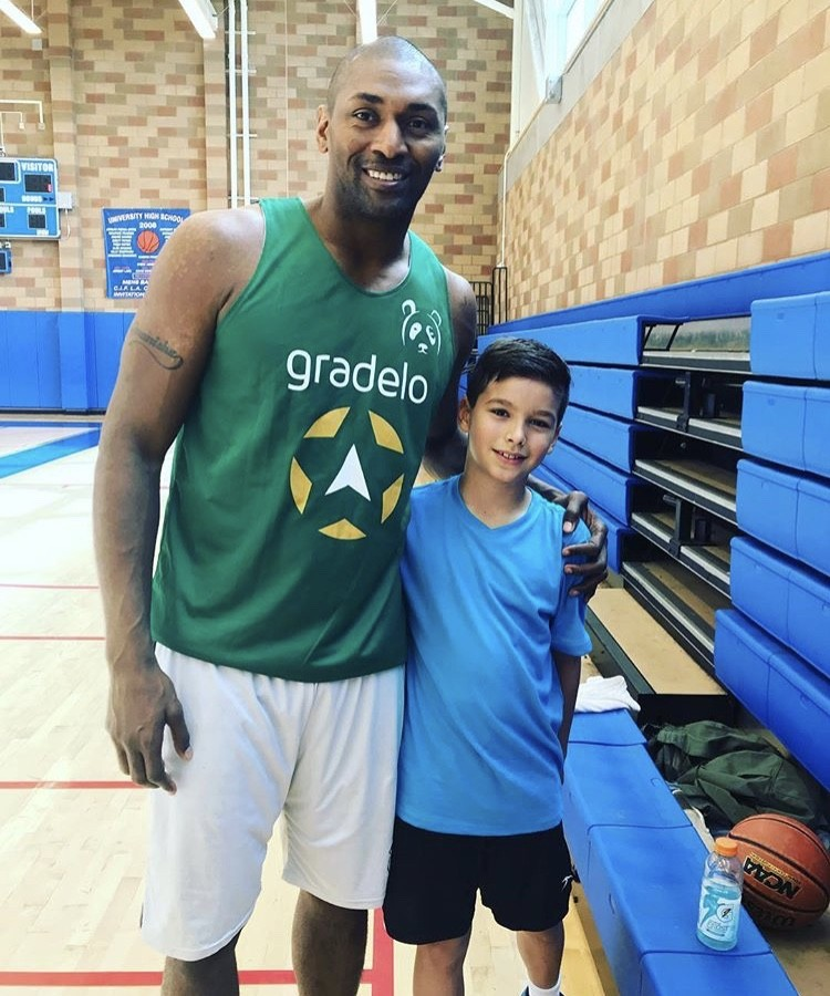 Brandi Glanville's Son With Metta World Peace