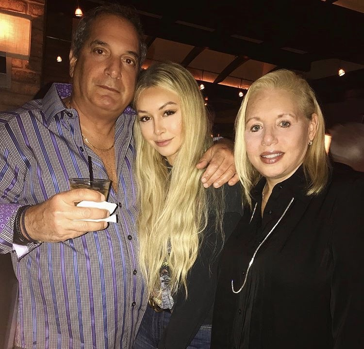 Corinne Olympios With Her Parents
