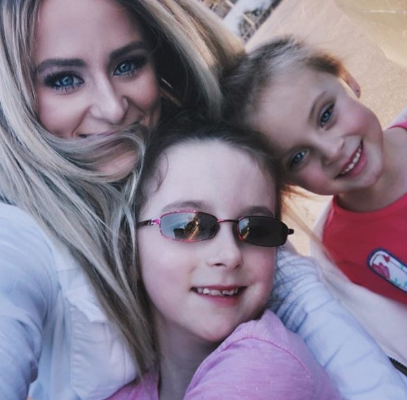 Leah Messer With Her Kids