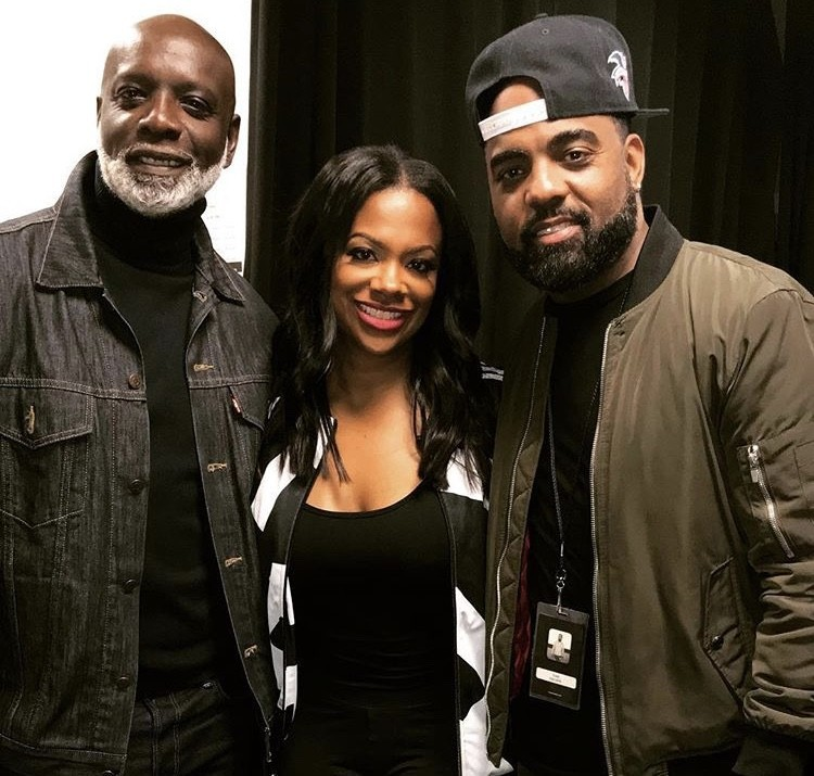 Peter Thomas, Kandi Burruss, & Todd Tucker: