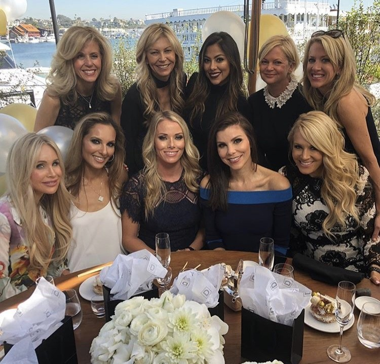 Heather Dubrow With Friends
