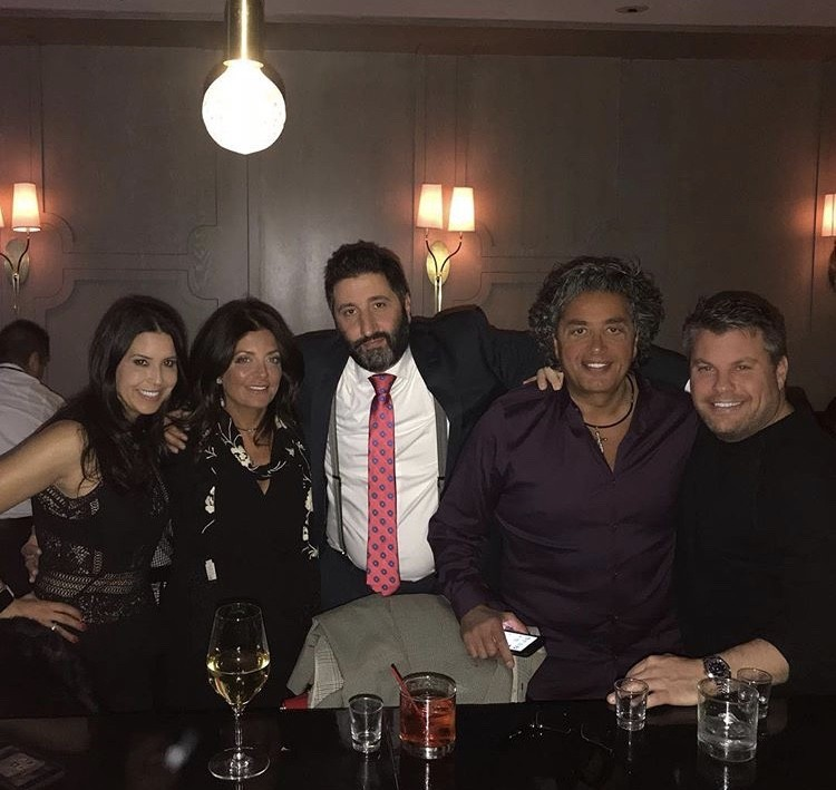 Kathy & Richie Wakile With Friends