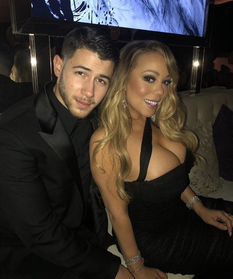 Nick Jonas & Mariah Carey