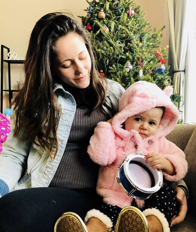 Jenelle Evans With Her Daughter
