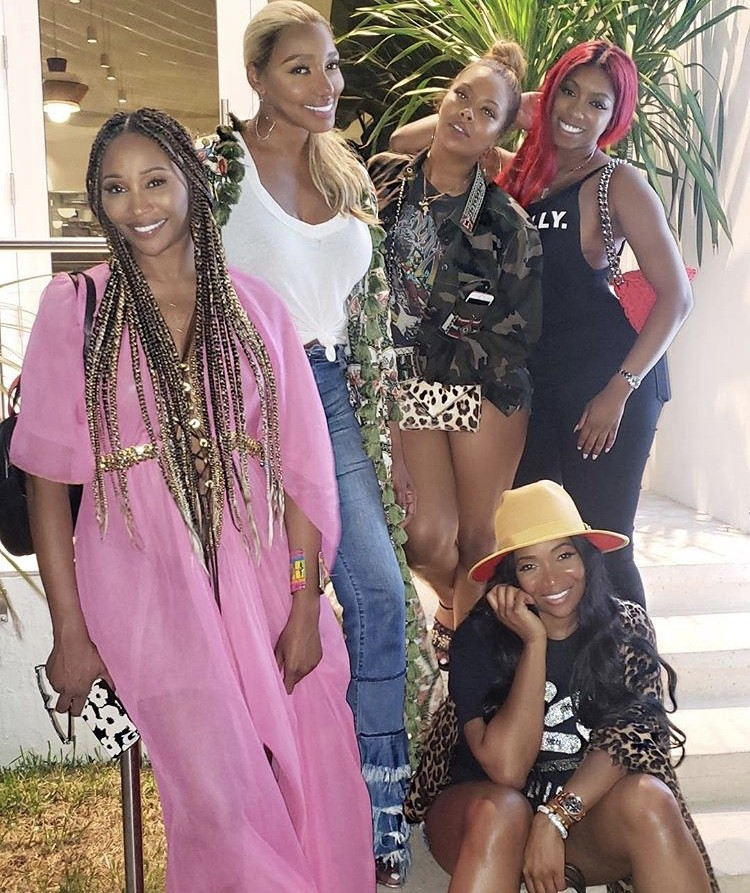 Cynthia Bailey, NeNe Leakes, Eva Marcille, Porsha Williams, & Marlo Hampton