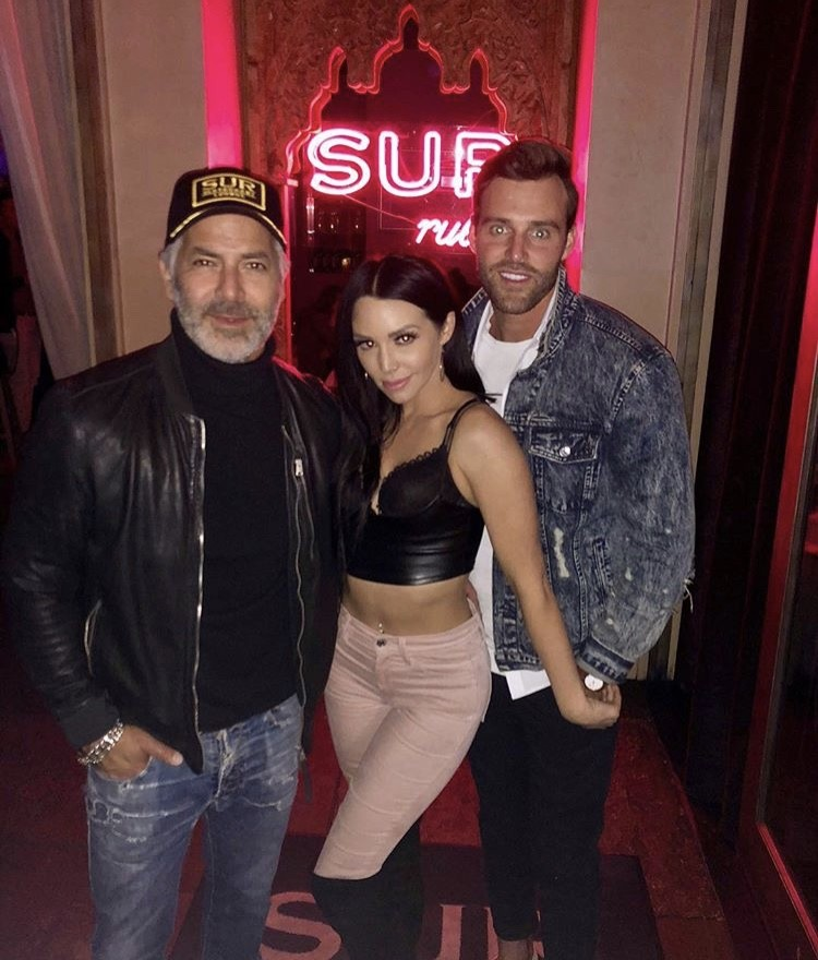 Guillermo Zapata, Scheana Marie, & Robby Hayes