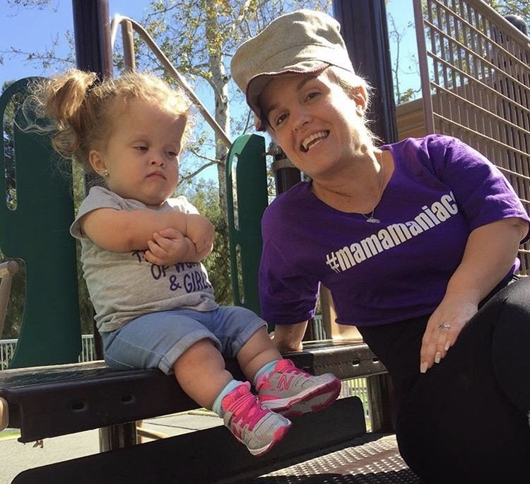 Terra Jole With Her Daughter Penny
