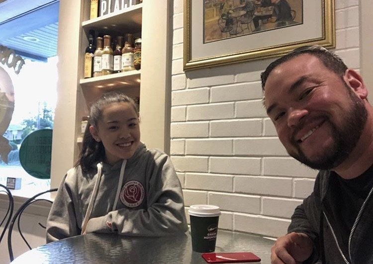Jon Gosselin With His Daughter