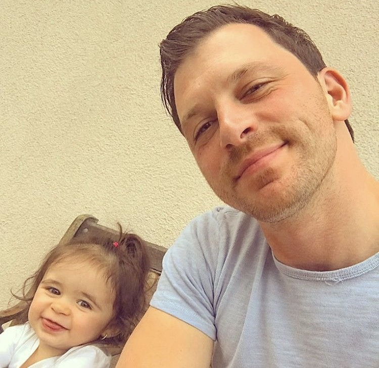 Albie Manzo With His Niece