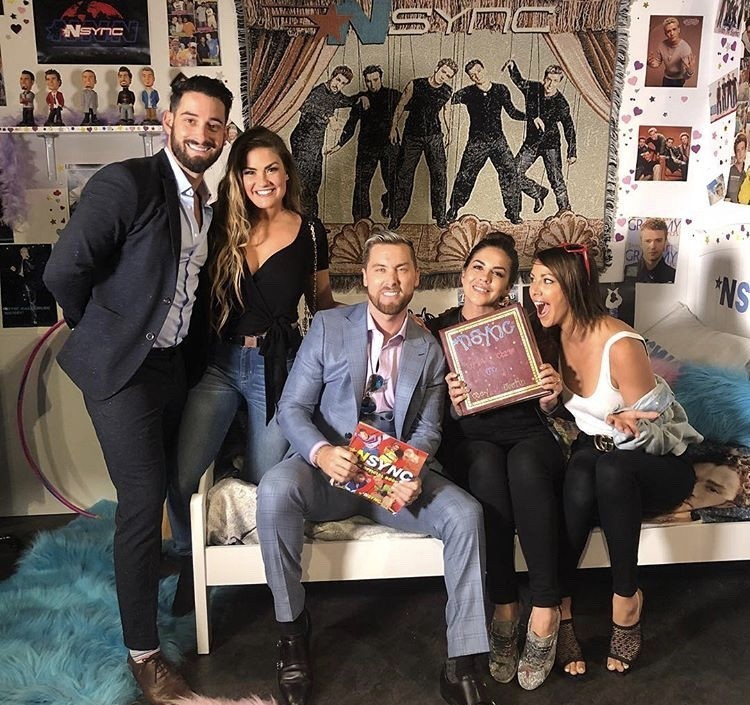Brittany Cartwright, Lance Bass, Katie Maloney, & Kristen Doute