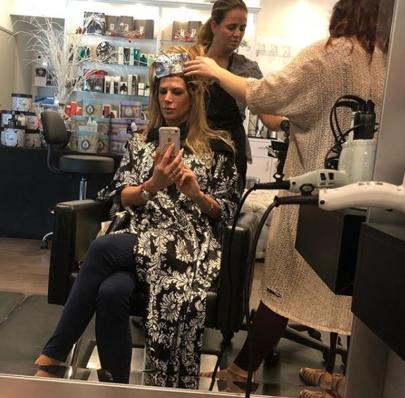 Alexis Bellino At The Salon