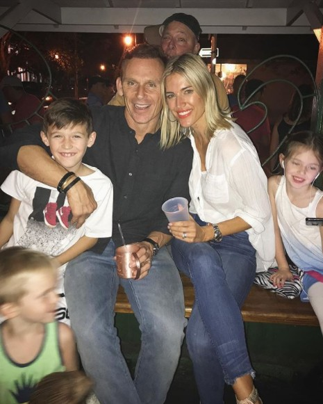 Kristen Taekman In Key West With Her Family